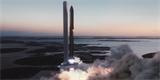 ELONOVINKY: Téměř sedmdesátimetrová raketa Super Heavy poprvé zažehla motory