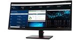 Nový monitor Lenovo ThinkVision s prohnutou obrazovkou a rozlišením 1440p vtáhne do dění