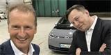 Největší konkurenti spolupracují? Elon Musk promluvil k manažerům Volkswagenu