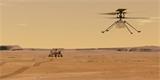 Tak se to podařilo. Vrtulník Ingenuity se právě krátce prolétl nad Marsem
