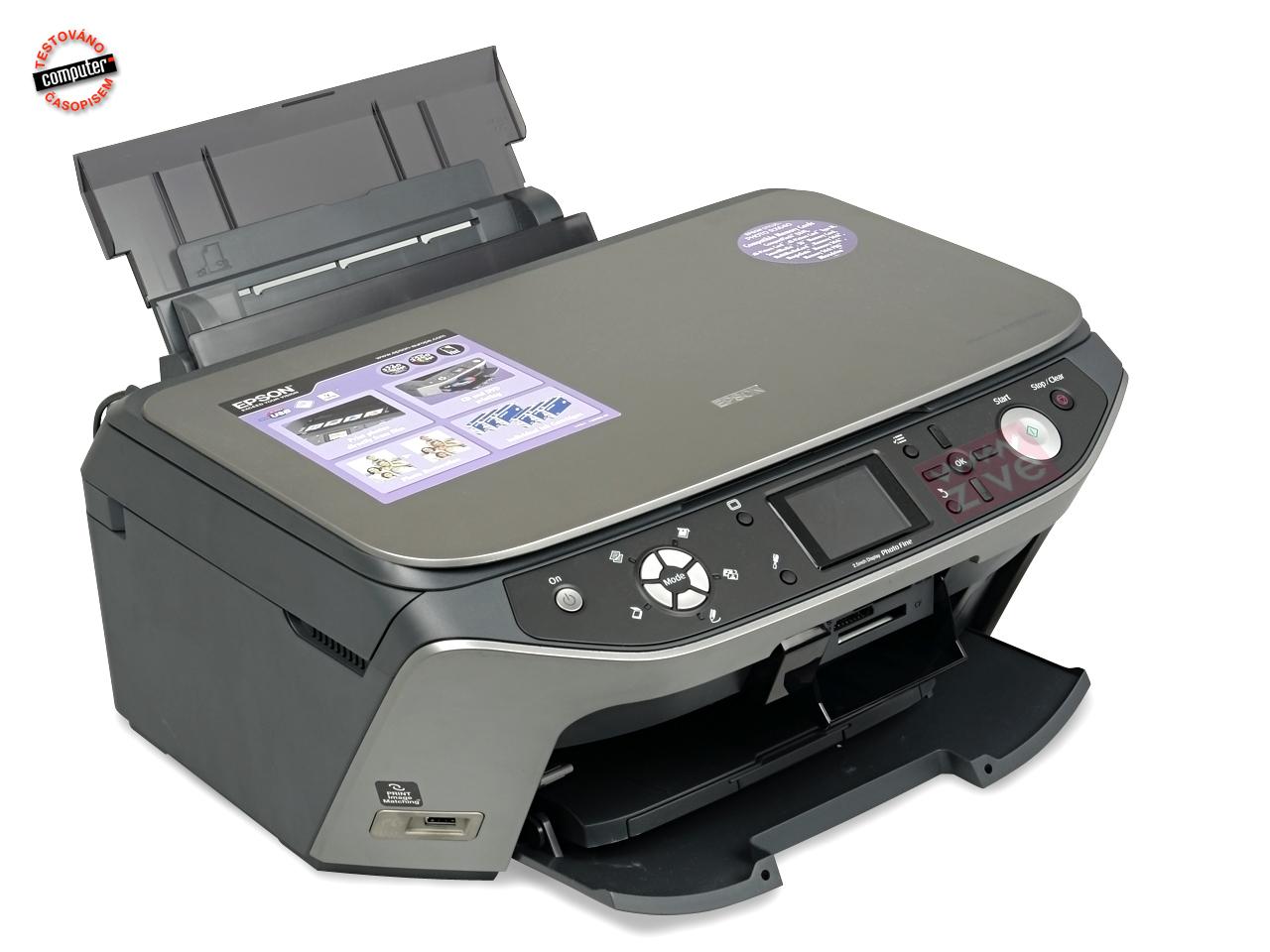 Printer: Epson Stylus Photo RX640 OpenPrinting - The Linux Epson stylus photo rx640