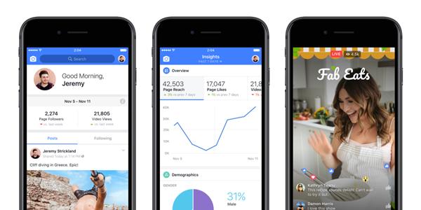 Facebook spustil aplikaci Creator pro youtubery a videoblogery – Živě.cz ee978df200