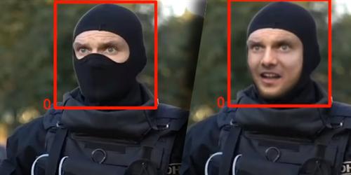 Běloruští aktivisté dokázali pomocí A.I. rekonstruovat a identifikovat tváře členů zásahové policie OMON