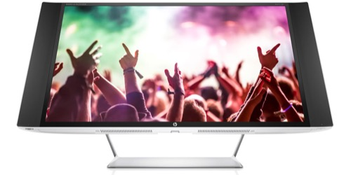 HP Envy 32 Media Display: QuadHD monitor s FreeSyncem i pro hráče