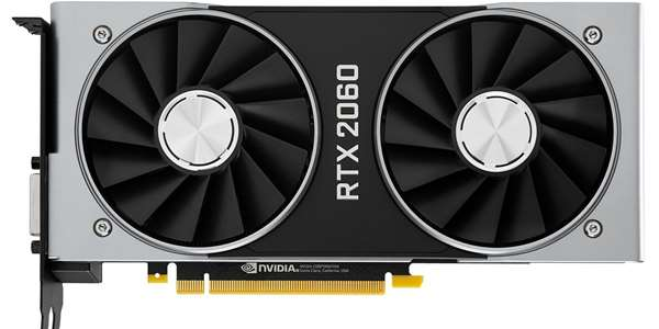 GeForce RTX 2060 6GB Founders Edition