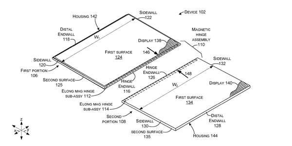 Obrazová příloha z nového patentu Microsoftu