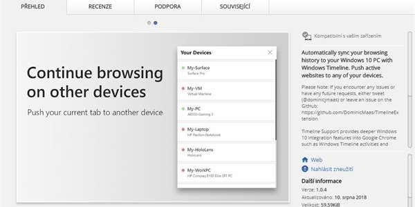 1f0475969cf Už nemusíte používat Edge. Tento doplněk vám synchronizuje Chrome s ...
