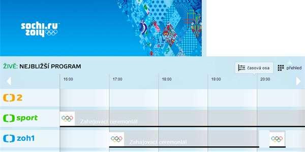 98b808041 Olympijské hry online: Kde sledovat přímé přenosy ze Soči – Živě.cz