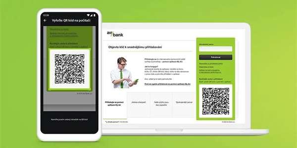 Air Bank v pátek oficiálně spustila nový způsob přihlašování do svého internetového bankovnictví. Místo zadávání přihlašovacích údajů a potvrzování v mobilní aplikaci či kódem doručeným v SMS bude stačit naskenovat QR kód na úvodní stránce.