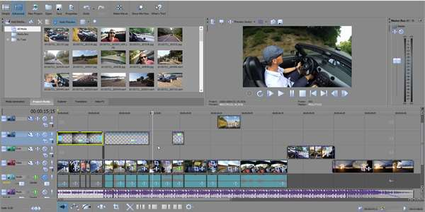 video editing software sony vegas 13 pro