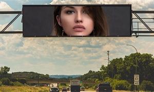 Hackeři zneužili digitální billboard u michiganské dálnice – místo reklamy na něm pustili porno