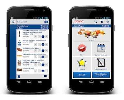 4aacf4748101 Nová mobilní aplikace Tesco Potraviny online – Živě.cz