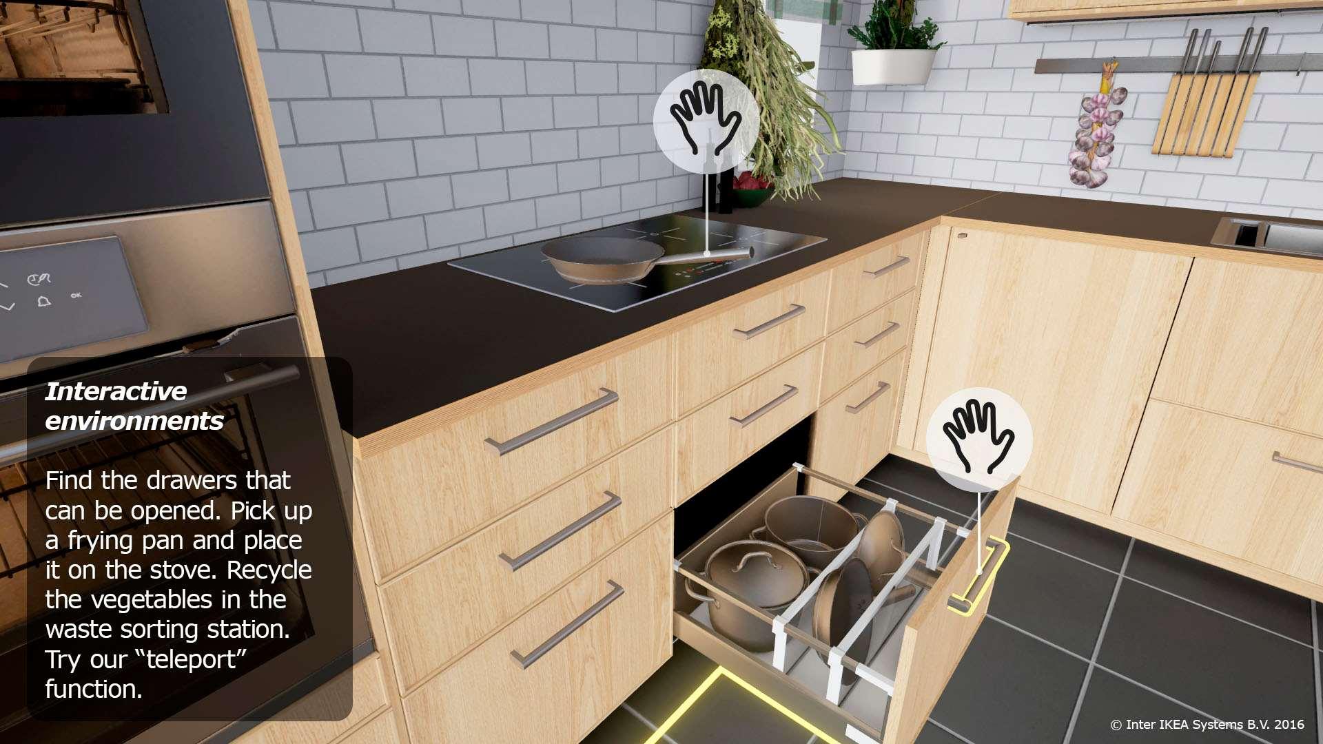 697056ddb8ed Sestavte si kuchyň IKEA ve virtuální realitě pomocí brýlí HTC Vive ...
