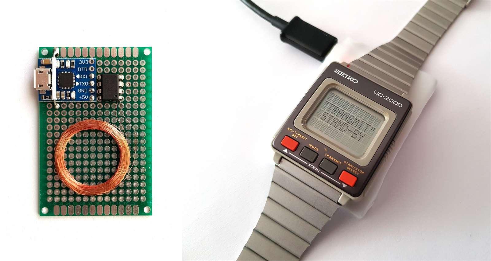 Galerie - Fanoušek hacknul hodinky Seiko z roku 1984 a naprogramoval pro ně  Tetris (video) 2961c72fb6